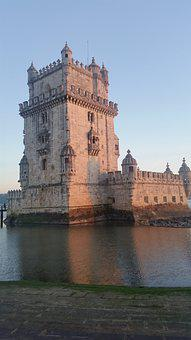 Portugal, Lisbon, The Tower Of Belem