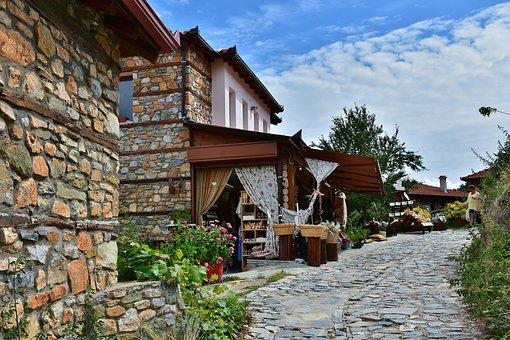 Village, Nei Pori, Platamonas, Greece, Mainland Greece
