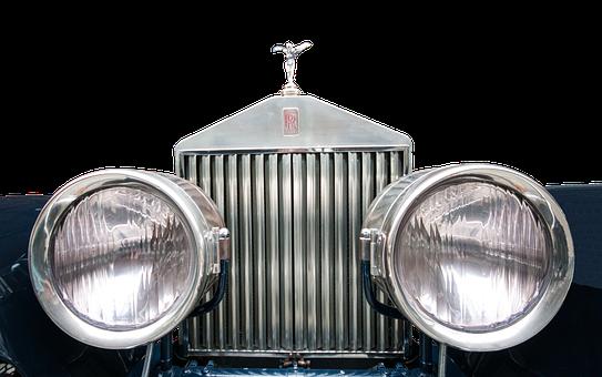 Front, Rolls Royce, Spotlight, Logo, Nobel Body, Nobel