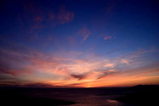 Norway, Nordland, Bronnoysund, Sunset, Rest, Recovery