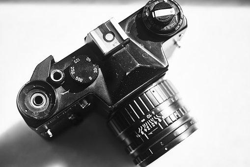 Camera, Movie, Old, Retro, Photo, Journalist