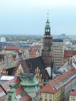 City, Poland, Wrocław, Cityscape, Architecture, Urban