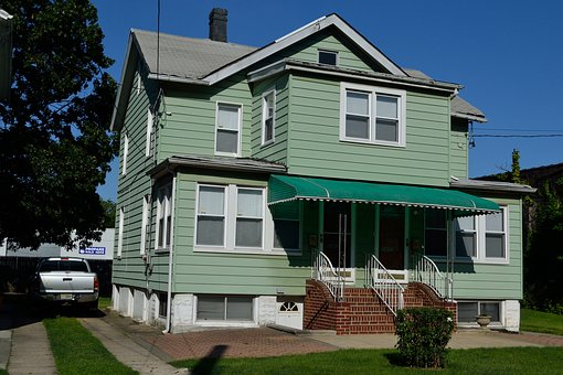 Green House, Old House, Queens New York, Residential