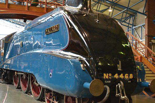 Steam, Train, Rail, Railway, Transportation, Travel