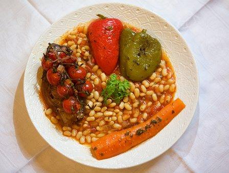 Restaurant, Tjena-kitchen, Bean, Tomatoes, Pepper