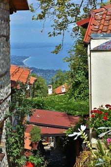 Cafe, Restaurant, Outlook, Sea, Aegean Sea, Water