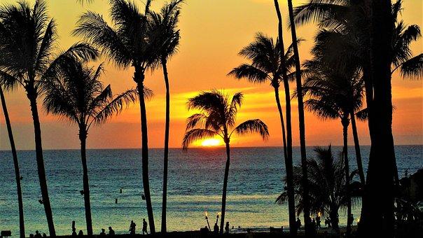 Maui, Sunset, Hawaii