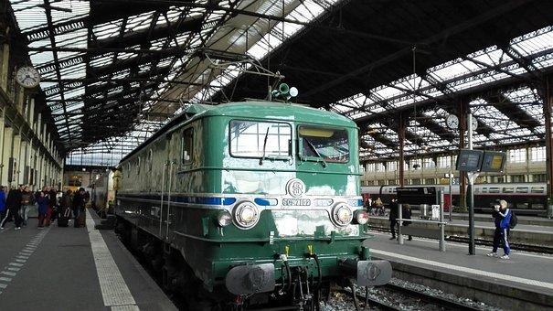Train, Station, Railway, Trains, Vias, Platform, Via