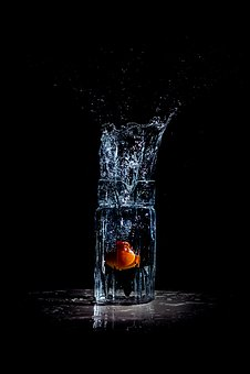 Splash, Water Splash, Tomato In Water, Water, Liquid