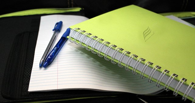 Notepad, Paper, Writing, Book, Pencil, Note