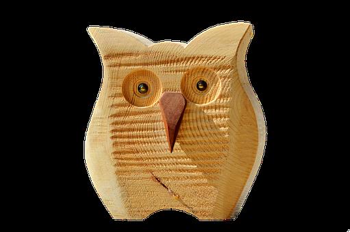 Owl, Wood Owl, Deco, Decoration, Bird, Decorative, Wood