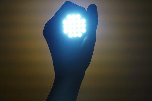 Flashlight, Light, Enlightenment, Lamp, Macro