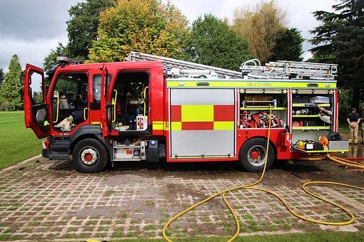 Fire Engine, Fire Truck, Truck, Emergency, Engine, Fire