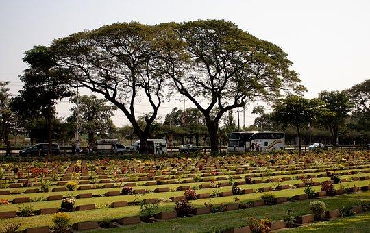 Cemetery, Military Alliance, Japan, Kanchanaburi