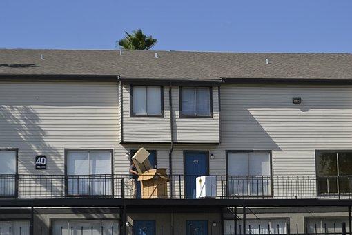 Houston Texas, Washing Machine, Moving, Boxes
