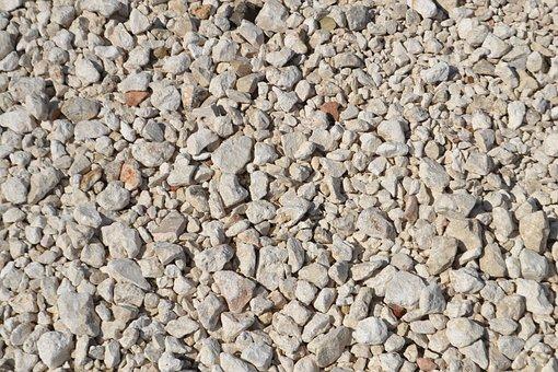 Rocks, Gravel, Tan, Stone, Material, Pebble, Texture