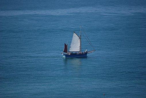 Sea, Old Rig, Sailing, Navigation, Sailboat, Boat
