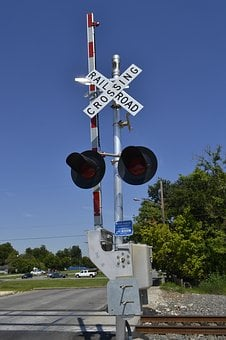 Houston Texas Rail Road Signals, Train Tracks