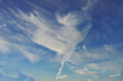 Cloud, Heart, Background, Texture, Sky, Nature