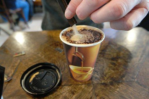 Coffee, Coffee Cup, Cup Of Coffee, Mixing Coffee