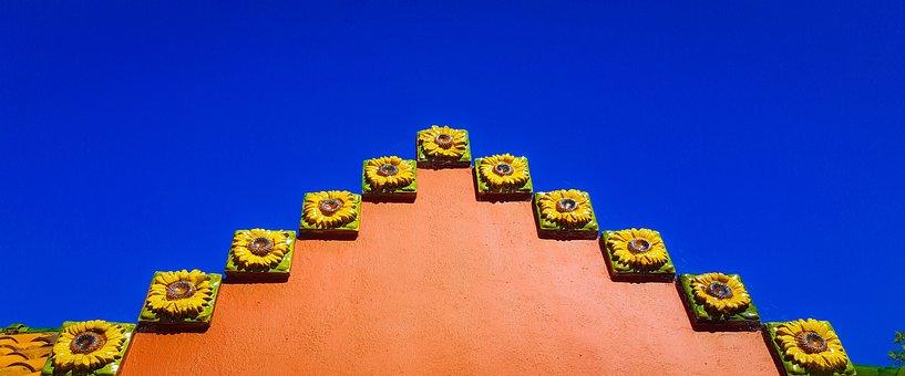 Dali, Comillas, Sky, Spain, Cantabria, Monument, Europe
