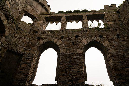 Castle, Ruin, Middle Ages, Historically