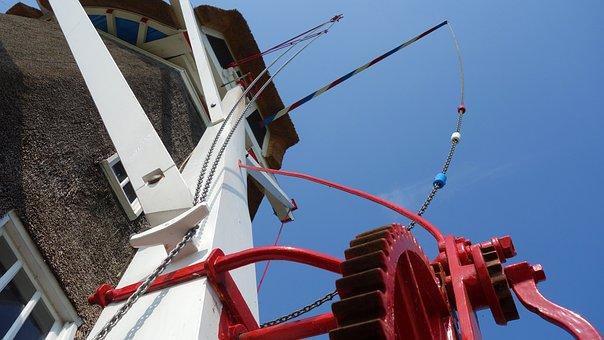 Mill, Wind Mill, Kruiwerk, Kruien, Mill Blades
