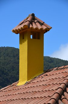 Roof, Brick, Roofs, Fireplace, Chimney, Roofers