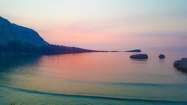 Cantabria, Spain, Summer, Sea, Beach, Coast, Water
