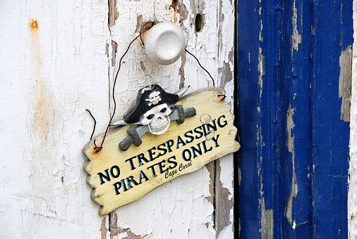 Sign, Announcement, Warning, Skull, Pirate, Message