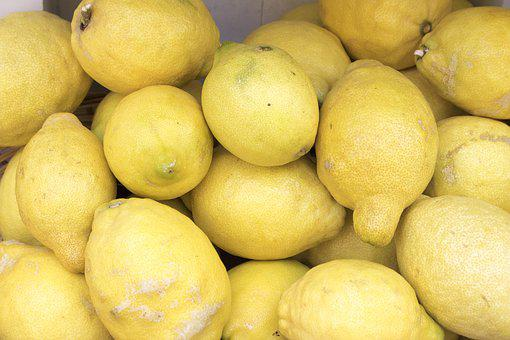 Lemons, Citrus Fruits, Yellow, Fruit, Vitamins, Fruits