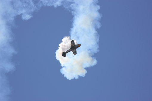 Air Show, Plane, Propeller, Aviation, Aerobatic