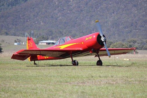 Vintage, Airplane, Propeller, Plane, Flight, Aviation