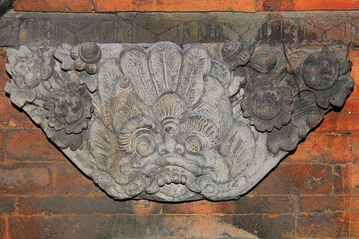 Relief, Ornament, Temple, Statue, Asia, Old, Religion