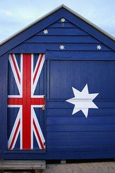 Australia, Beach, Flag, Holiday, Surf, Lifestyle