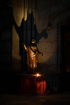 Church, Clermont-ferrand, Shadow, Cathedral, Catholic