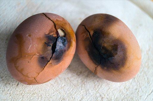Egg, Burnt, Clumsy, Forgetful, Eat, Error, Eggshell