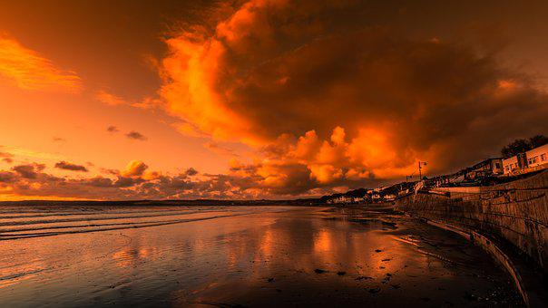 Filey, Yorkshire, England, Judgment Day, Seascape