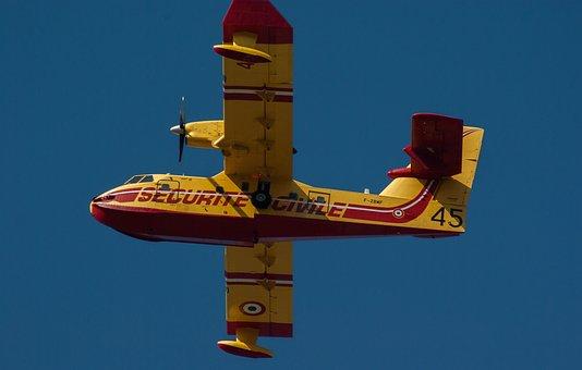 Canadair, Aircraft Fire, Fire Department, Lights