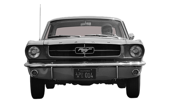 Ford, Mustang, Front, Automotive, American, Oldtimer