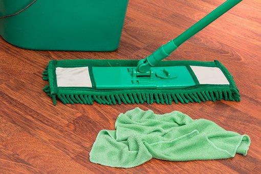 Mop, Bucket, Chores, Housework, Clean, Household