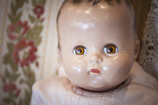 Baby Doll, Porcelain, Childhood, Classic, Collectible