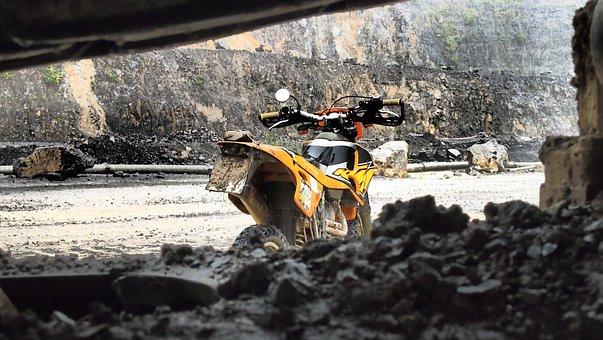 Enduro, Wuppenduro, Excavators, Quarry, Weather
