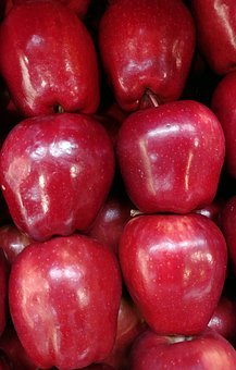 Apple, Red Apple, Fruit, Agriculture, Nature, Fresh
