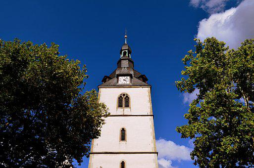Steeple, Clock Tower, Church, Tower, Clock