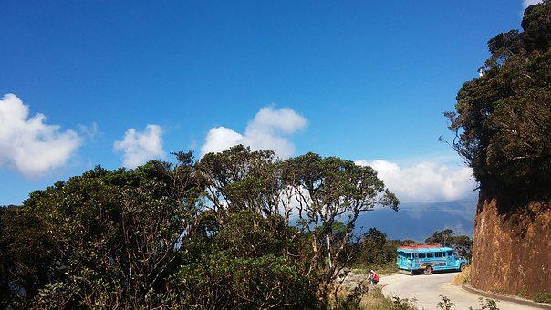 Mountain, Philippines, Asia, Vacation, Summer, Jeepney