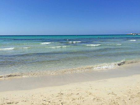 Mallorca, Beach, It Trenc, Sea, Holiday, Nature, Summer