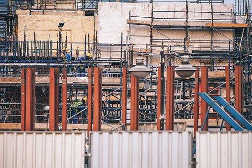 Building, Built, Construction, Crane, Design