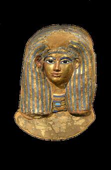 Pharaonic, Mummy, Mummified, Grave, Bust, Egypt