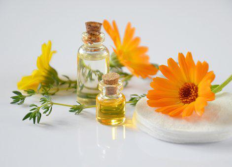 Cosmetology, Oil Cosmetic, Calendula, Cosmetics, Petals